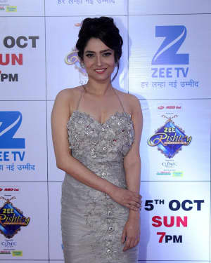 Ankita Lokhande - In Pics: Red Carpet Of The Grand Celebration Of Zee Rishtey Awards 2017