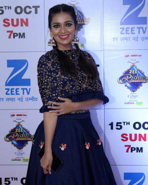 Mansi Srivastava - In Pics: Red Carpet Of The Grand Celebration Of Zee Rishtey Awards 2017