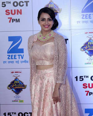 Shrenu Parikh - In Pics: Red Carpet Of The Grand Celebration Of Zee Rishtey Awards 2017