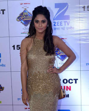 Krystle D'Souza - In Pics: Red Carpet Of The Grand Celebration Of Zee Rishtey Awards 2017