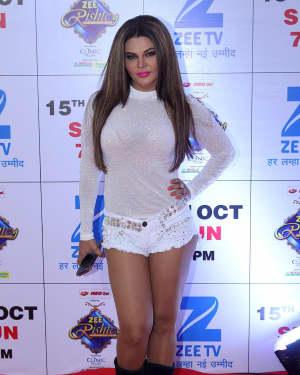 Rakhi Sawant - In Pics: Red Carpet Of The Grand Celebration Of Zee Rishtey Awards 2017