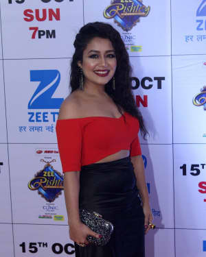 Neha Kakkar - In Pics: Red Carpet Of The Grand Celebration Of Zee Rishtey Awards 2017