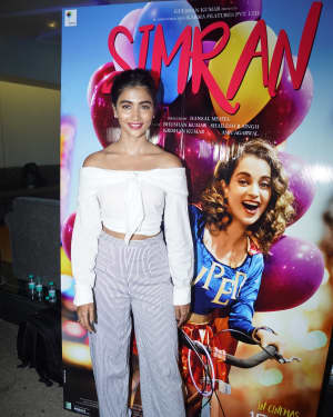 Pooja Hegde - In Pics: Special Screening Of Film Simran | Picture 1527500