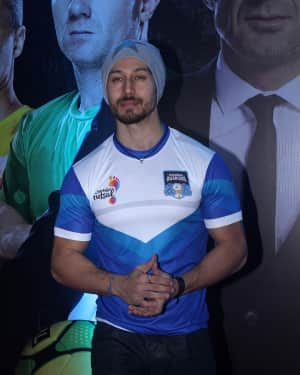 Tiger Shroff - In Pics: Grand Launch Of Premier Futsal Season 2