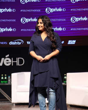 Vidya Balan - In Pics: Launch Of The New English Movie Channel &Privé Hd