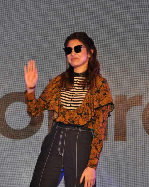 In Pics: Anushka Sharma during the announcement as brand ambassador of 'Polaroid Eyewear' | Picture 1529312