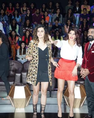 In Pics: Jacqueline, Varun and Taapsee Promotes Judwaa 2 In Dance Plus Final? Episodes   Picture 1529406
