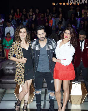 In Pics: Jacqueline, Varun and Taapsee Promotes Judwaa 2 In Dance Plus Final? Episodes   Picture 1529409