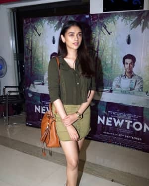 Aditi Rao Hydari - In Pics: Special Screening Of Film Newton