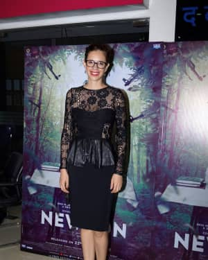 Kalki Koechlin - In Pics: Special Screening Of Film Newton