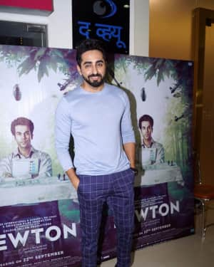 Ayushmann Khurrana - In Pics: Special Screening Of Film Newton | Picture 1529449