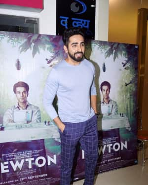Ayushmann Khurrana - In Pics: Special Screening Of Film Newton