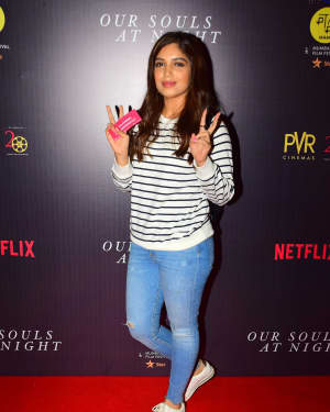 Bhumi Pednekar - In Pics: Special Screening Of Film Our Souls At Night | Picture 1529452