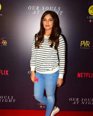 Bhumi Pednekar - In Pics: Special Screening Of Film Our Souls At Night