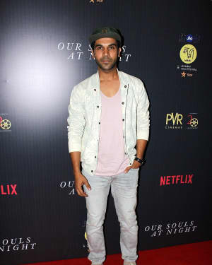 Rajkummar Rao - In Pics: Special Screening Of Film Our Souls At Night