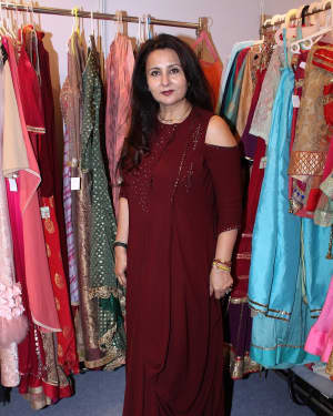 Poonam Dhillon - In Pics: Launch Of Padmini Kolhapure and Poonam Dhillon Vivaha Collection