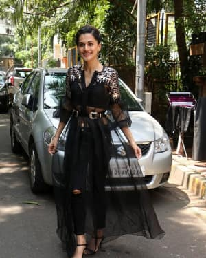 In Pics: Taapsee Pannu Spotted At INDIGO Restaurant | Picture 1529928