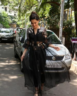 In Pics: Taapsee Pannu Spotted At INDIGO Restaurant | Picture 1529926