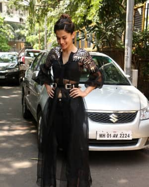 In Pics: Taapsee Pannu Spotted At INDIGO Restaurant | Picture 1529927