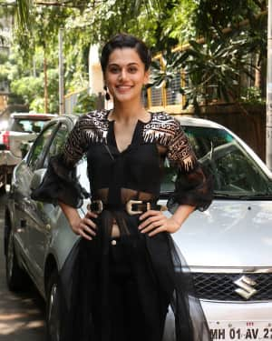 In Pics: Taapsee Pannu Spotted At INDIGO Restaurant | Picture 1529929