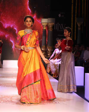 In Pics: Celebs Walks Ramp At IIJW 2017