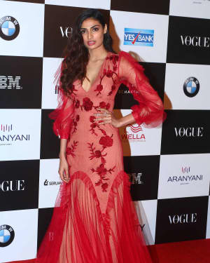 Athiya Shetty - In Pics: Red Carpet Of Vogue Women Of The Year 2017