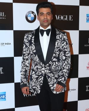 Karan Johar - In Pics: Red Carpet Of Vogue Women Of The Year 2017