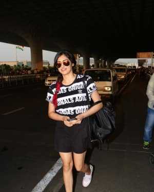 Adah Sharma Spotted At Airport Images | Picture 1531209