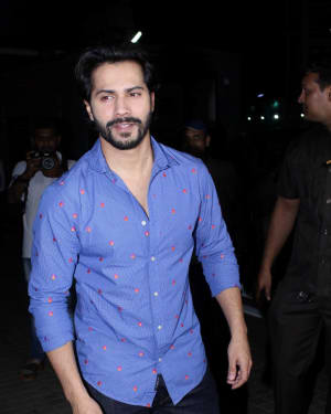 Varun Dhawan - In Pics: Special Screening Of Film Judwa 2