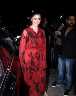 Alia Bhatt - In Pics: Special Screening Of Film Judwa 2 | Picture 1531810