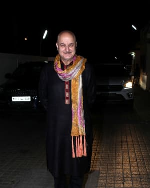 Anupam Kher - In Pics: Special Screening Of Film Judwa 2