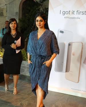 Sridevi Kapoor - In Pics: Launch Of iPhone 8 & iPhone 8+ At iAzure