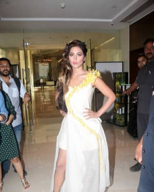 Photos: Hina Khan at the Mega Hair Show Marigold by Streax Professional | Picture 1574487