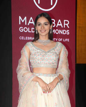 Photos: Manushi Chhillar at Press Conference of Malabar Gold & Diamonds