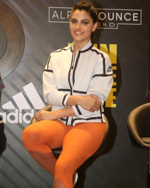 Photos: Saiyami Kher at the launch of AlphaBounce Beyond