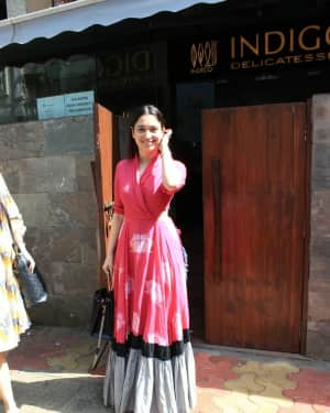 Photos: Tamanna Bhatia spotted at Indigo in Bandra