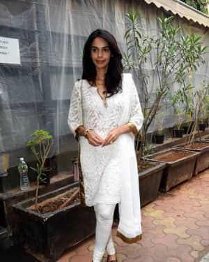 Photos: Mallika Sherawat Spotted at Indigo Andheri