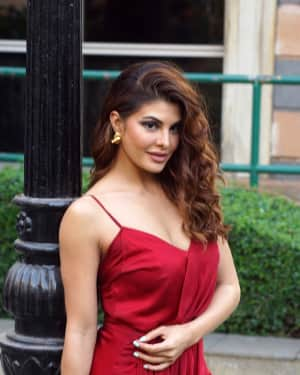 Photos: Jacqueline Fernandez At Her First Makeup Master Class With Shaan Muttathil