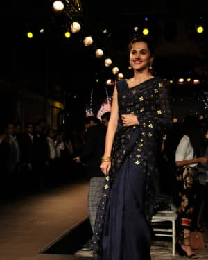 Photos: Tapsee Pannu At Forevermark Collection Fashion Show
