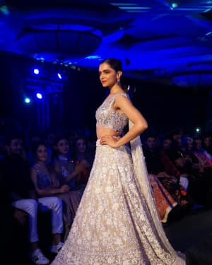 Photos: Deepika Padukone walk the ramp at Manish Malhotra's Mijwan show