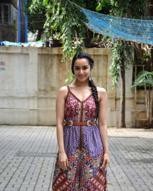 Photos: Shraddha Kapoor at Maddock films office for the promotions of film Stree