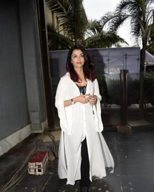 Photos: Aishwarya Rai during Fanney Khan Media Interactions At Jw Marriott Juhu