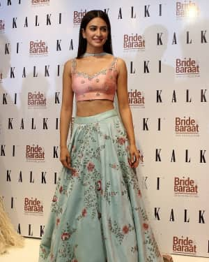 Photos: Kriti Kharbanda at the launch of Bride & Baraat collection
