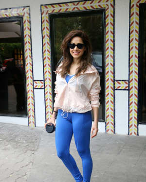 Photos: Nushrat Bharucha Spotted at Sun And Sand Hotel