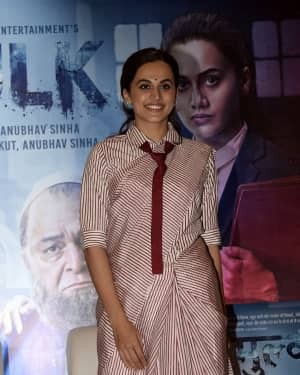 Photos: Taapsee Pannu at Success party of Mulk at The Club