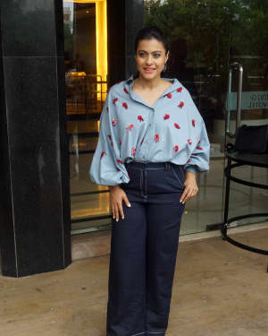 Photos: Kajol Spotted At Interview Of Helicopter Eela | Picture 1594091