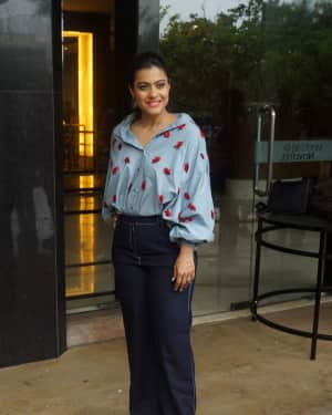 Photos: Kajol Spotted At Interview Of Helicopter Eela | Picture 1594092