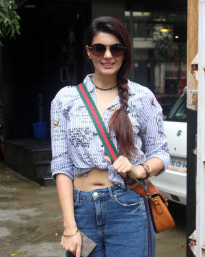 Photos: Ihana Dhillon Spotted Outside Tip & Toe Salon