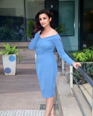Photos: Parineeti Chopra shooting for the promotions of film Namaste England