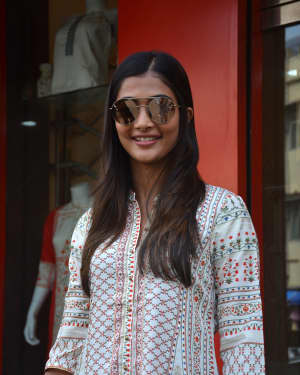 Photos: Pooja Hegde spotted at Bandra